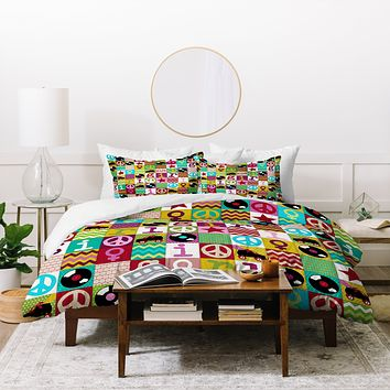 Sharon Turner Patch Girl Duvet Cover