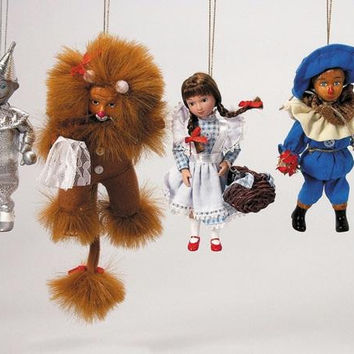 12 Christmas Ornaments - Wizard Of Oz