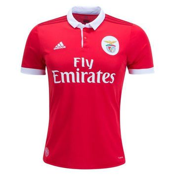 KUYOU Benfica 2017/18 Home Man Soccer Jersey Personalized name and number