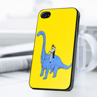 Batman Dinosaurs iPhone 4 Or 4S Case