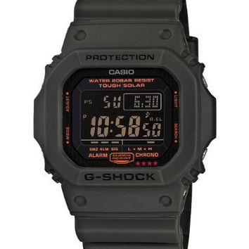 Casio Men's G5600KG-3CR G-Shock Military Green Multi-Function Digital Watch