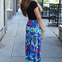 Euphoric Escape Maxi Skirt