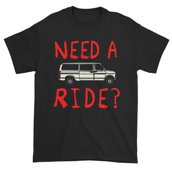 Need A Ride Creepy Candy Get in the Van Sleazy Creep Men's Short Sleeve T-Shirt