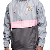 Odd Future OF Grey & Pink Anorak Jacket