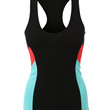 Womens Stretchy Racerback Activewear Sports Tank Top