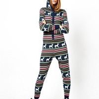 ASOS Knitted Christmas Fairisle Onesuit