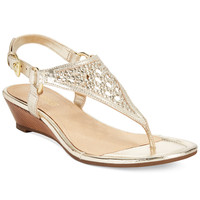 Sperry Women's Laina Mid-Wedge Thong Sandals