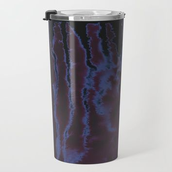 faux tie-dye Travel Mug by duckyb