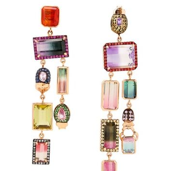 DANIELA VILLEGAS - OOMPA LOOMPA EARRINGS - LUISAVIAROMA - LUXURY SHOPPING WORLDWIDE SHIPPING - FLORENCE