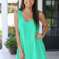 Riverside Dress -Green