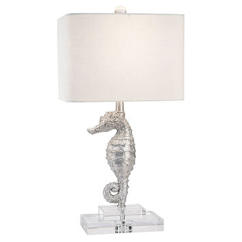 Harbour Island Table Lamp, Silver, Table Lamps