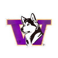The Husky Shop - Side Vault Dog Wooden Sign - Home & Office - University Book Store