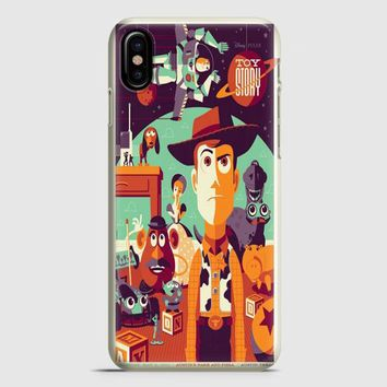 Toys Story Woody Film Art Disney Poster iPhone X Case