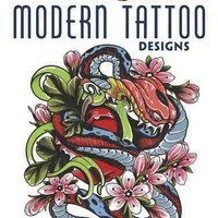Modern Tattoo Designs (Creative Haven Coloring Books)