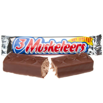 3 Musketeers Candy Bars: 36-Piece Box