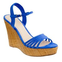 BETTE SUEDE PLATFORM WEDGES