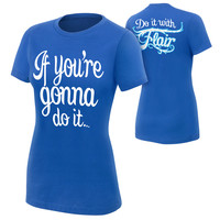 """Charlotte """"Do It With Flair"""" Women's Authentic T-Shirt"""