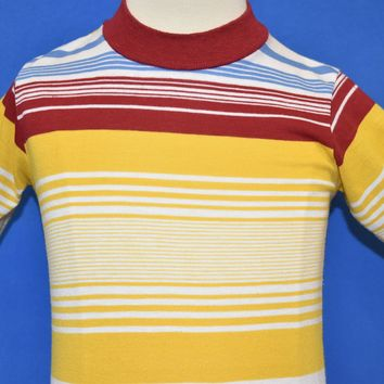 80s Striped Surfer Crewneck t-shirt Youth Size 7