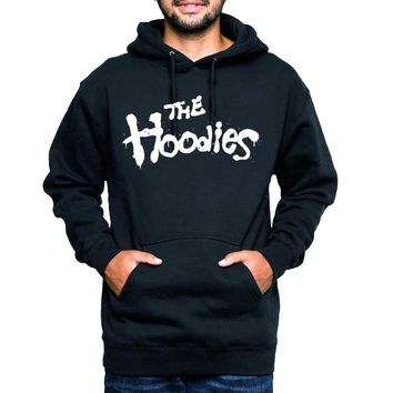 Hoodies Brothers Keeper Black and White Hooded Sweatshirt