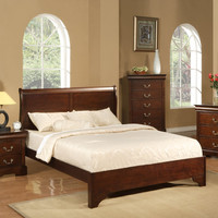 West Haven Classic Style Sleigh Bed