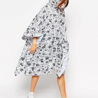 It's Raining Cats and Dogs Poncho