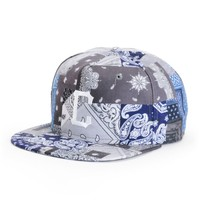 Crooks and Castles Luxe Bandit Snapback Hat