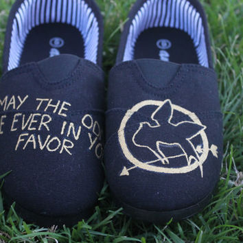 Hunger Games Hand Painted Shoes