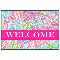Let's Cha Cha Door Mat - Welcome Mat, Entrance Mat