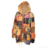 Chamomile Patchwork Hoodie on Sale for $39.95 at The Hippie Shop