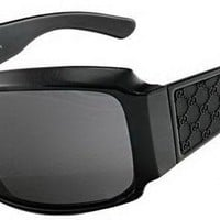 Gucci Mens Black Sunglasses GG1559/S D28BN Black Monogram
