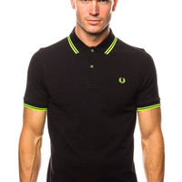 Fred Perry Soho Neon Tipped FP Shirt