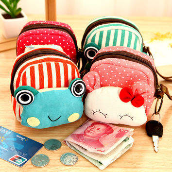Cartoons Lovely Korean Cute Wallet = 4877826500