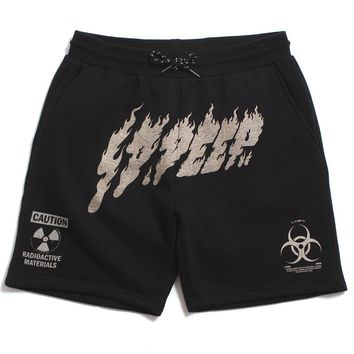 Noxious Fumes Sweatshorts Black