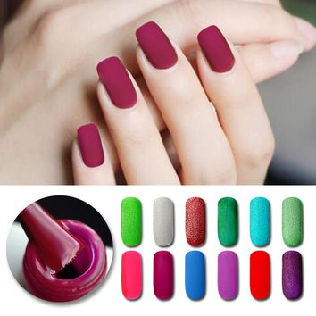 BORN PRETTY 5ml Matte Soak Off Nail UV Gel Polish Manicure Nail Art UV Builder Varnish 29 Colors