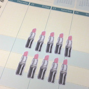 SALE** MAC Lipstick Planner Stickers Set