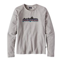 Patagonia Men's Nightfall Fitz Roy Lightweight Crew Sweatshirt | Feather Grey