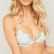Free People Slow Dance Green Bra - Urban Outfitters
