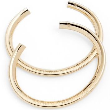 Stella Valle Best Friends Set of 2 Wrist Cuffs | Nordstrom