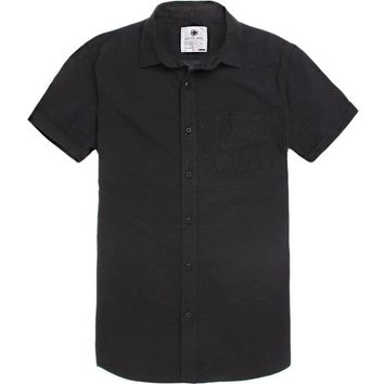 On The Byas Jude Multi Short Sleeve Woven Shirt - Mens Shirt
