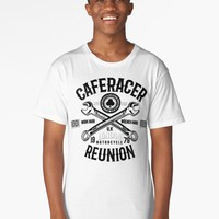 'Cafe Racer UK | bikers, motorcycle, rock, rock and roll, uk, london' Long T-Shirt by hypnotzd