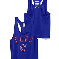 Chicago Cubs Mesh Racerback Tank