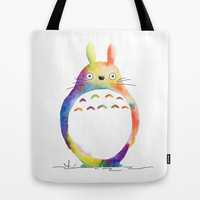 My Neighbor Tote Bag by Miss L In Art