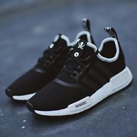 Best Online Sale NEIGHBORHOOD x INVINCIBLE x adidas Originals NMD R1 BOOST Running Sport Shoes