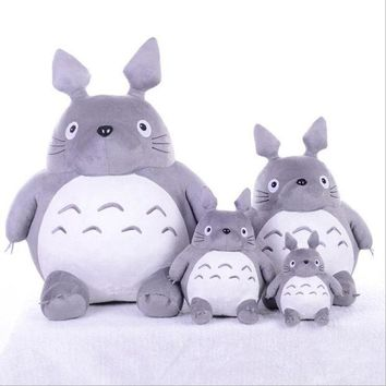 CREYONJ CXZYKING 20/30CM Cartoon Stuffed My Neighbor Totoro Plush Toys Gifts Toys For Children Soft Toy For Kids Gift Animation Doll Toy