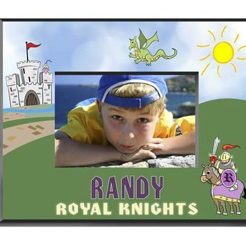 Personalized  Children's Frames - Knight