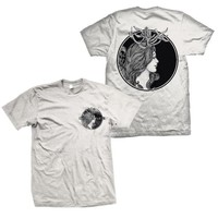 Counterparts: Antlers T-Shirt (Off White)
