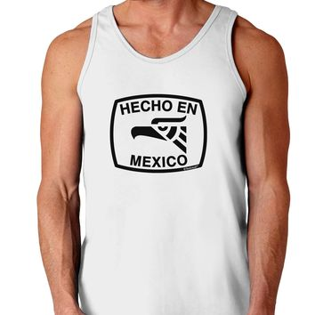 Hecho en Mexico Eagle Symbol with Text Loose Tank Top  by TooLoud