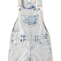 Acid-Wash Denim Shortalls for Girls | Old Navy