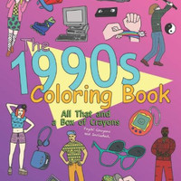 THE 1990S COLORING BOOK