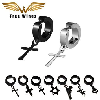Ear Cuff Clip On Earrings Without Piercing Women Titanium Men Earring Cuff No Pierced no hole Earings Fashion Jewelry 2017 2d5
